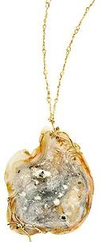 Dean harris mineral pendant necklace