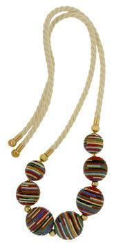 Scott stephen handmade tribal fashion accessories jewelry jewellery masai bead necklace