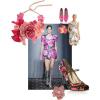 Spring 2008 florals fashion trend Balenciaga