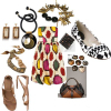 Spring 2008 tribal fashion style trend dresses jewelry jewellery accessories shoes bags handbags purses