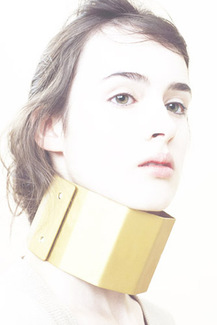 Oversize metal collar necklace jewelry jewellery andreas eberharter AND_i