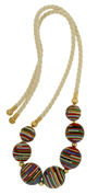 Scott stephen handmade beaded tribal necklace masai