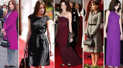 Carla bruni sarkozy fashion sense style