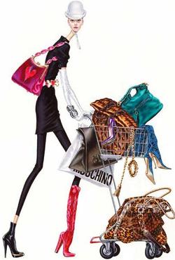 Arturo elena Fashionista fashion illustration