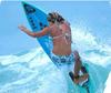 Surfer babe diva girl_surfing in a bikini