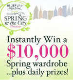 Bluefly New York magazine fashion wardrobe contest