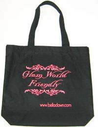 Eco chic earth friendly tote bag shopper