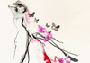 Erin petson eco chic fashion illustration with butterflies
