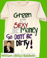 Billy Baldwin Celeb designed eco friendly tee t_shirt