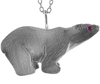 Eco Chic Earth Friendly Fine jewelry Jewellery Endangered Animal Themed polar bear Pendant necklace
