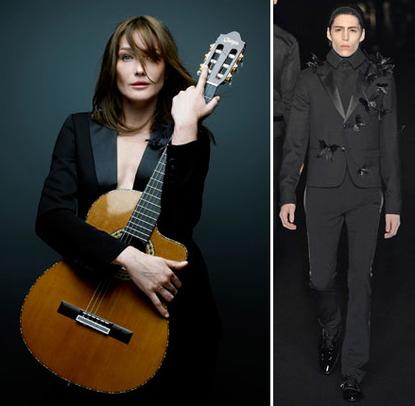 carla bruni sarkozy. Carla Bruni-Sarkozy in Dior