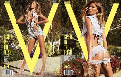 Giselle Gisele Bundchen sexy v magazinecover