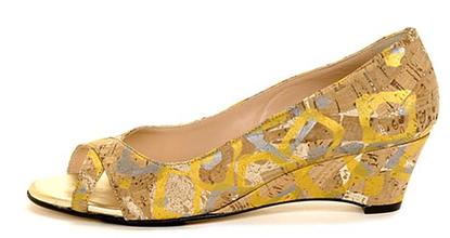 Handpainted_cork_peep_toe_shoes