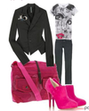 Hot_pink_booties_fall_fashion