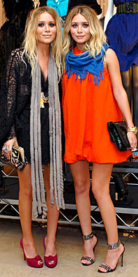 Fashiontribes.com Fashion Blog - Style, Beauty, Luxury Lifestyle & Shopping: Mary-Kate & Ashley Olsen: Nab the Look