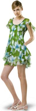 Handpainted_vintage_chiffon_dress_3