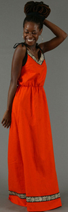 Glamorous_orange_tribal_print_maxi