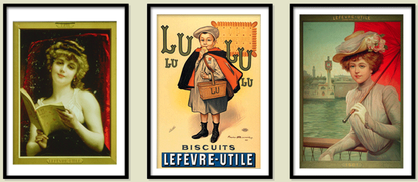 Lu_biscuits_posters_advertising