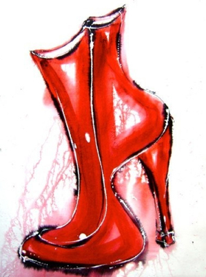 Paintings_about_boots_shoes_2