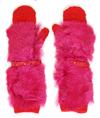Bright_pink_alpaca_fur_mittens