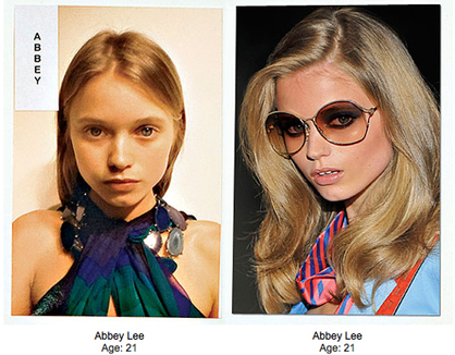 Beauty, Luxury Lifestyle & Shopping: Models Without Makeup - Yikes!