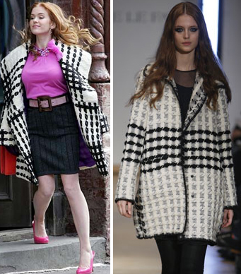 Confessions_shopaholic_plaid_coat