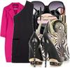 Black_one_shoulder_dress_pink_coa_2