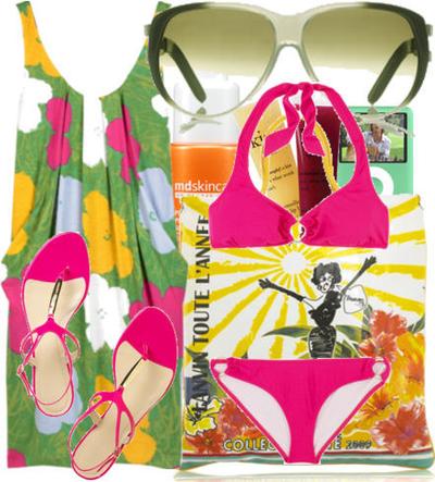 Resort_wear_brights_pink_bikini_2