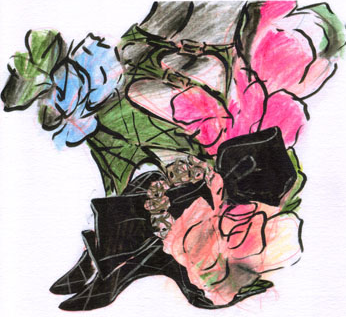 Vivier_flower_shoe_illustration
