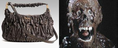 Персонажи, из фильмов ужасов, которые навеяли автору сделать такие сумки.