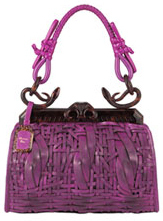 Саша Фирс с сумкой от Dior.