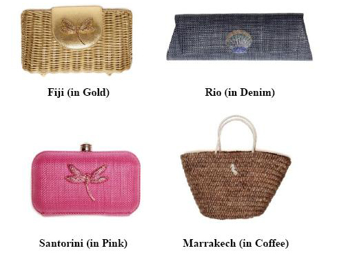Fashiontribes.com: Travel Light & Get Noticed Quickly Toting a Chic Bag from ElizaGray. FASHIONTRIBES FASHION BLOG