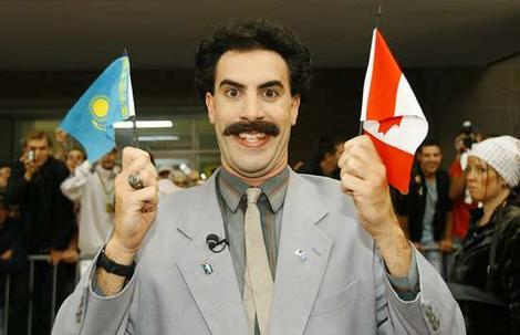 Its not what you think it is. Borat