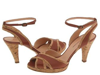 Costume_national_brown_cork_sandals