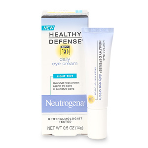 Neutrogena Healthy Defense Daily Eye Cream SPF 30 Cleverly Combines Moisturizer, Concealer & Sunscreen. It's Multitasking Done Right. FASHIONTRIBES BEAUTY BLOG