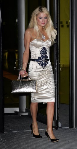 paris hilton white dress - Paris Hilton'la moda