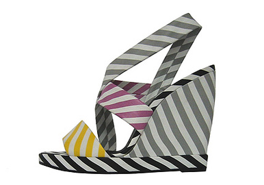 Pierre_hardy_multi_striped_wedge_sandal