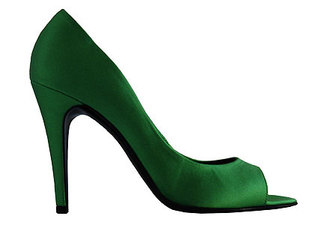 Fashiontribes.com: Life without Emerald Green Peeptoe Pumps from Pierre Hardy. Possible, Yes, but Why? FASHIONTRIBES FASHION & SHOE BLOG